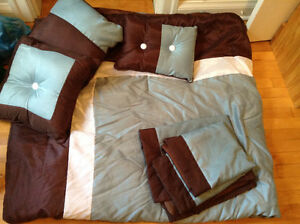 Complete bedding set for double bed
