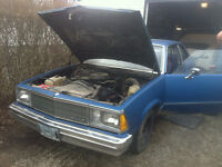 229 CUI V6 FROM 1980 MALIBU, 65K ORIGINAL KM, $225