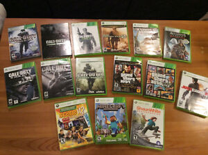Xbox 360 Games (rated: T & M)