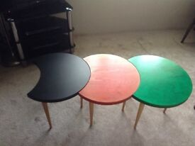 Retro Coffee Tables - Set of Three - Great Condition!