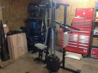 WEIDER PRO 9625 WEIGHT MACHINE