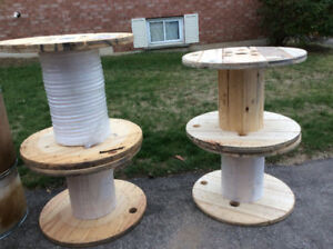 SOLID WOOD SPOOLS!