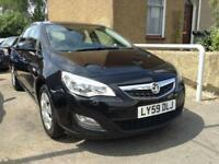 2010 59 VAUXHALL ASTRA 1.6 EXCLUSIV 5D 113 BHP