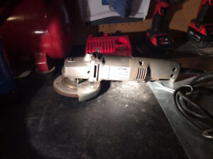 "Craftsman 4 1/2"" Angle Grinder - Excellent Condition"