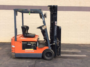 Toyota electric forklift 5FBE15