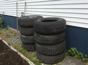 Tires and Rims P265/70R16