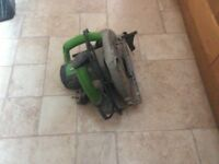 Evolution electric saw, hitachi planer and electric jigsaw