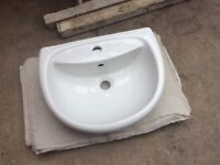 Sophia semi recessed basin