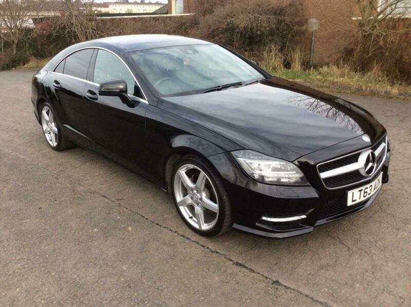 Mercedes-Benz CLS250 2 1TD ( 201bhp ) BlueEFFICIENCY AMG Sport Black with  black | in Airdrie, North Lanarkshire | Gumtree