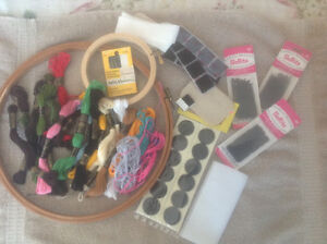 Quilters, sewers, embroidery or bead artists.