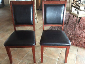 Solid Wood Chairs as new