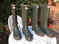 Rubber boots, only worn 3 times