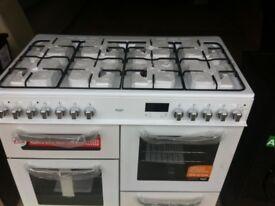 Brand new duel fuel range cooker