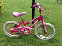Girls bike £7.50