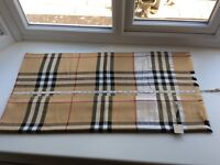 Burberry Pure Cashmere Scarf Brand New