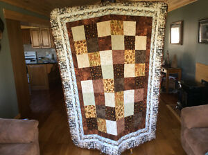 Hand made quilt (great Father's Day gift)