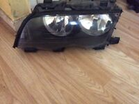 Bmw e46 newish headlights