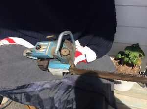 """Homelite CHAINSAW 16"""" BAR LOTS OF COMPRESSION"""