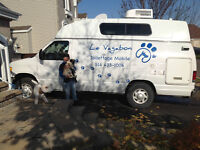 toilettage mobile LE VAGABON montreal,laval terrebonne environs
