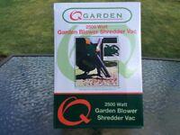 Garden Leaf Blower and Vac