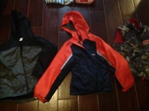 Boys size 8 spring/fall jackets