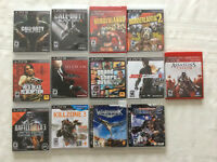 PS4 GAMES - 13 for 90$