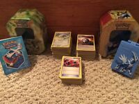 Pokemon Cards and Card Holders