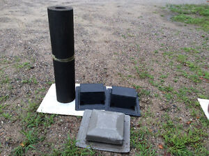 Tar paper and 3 roof vents $20