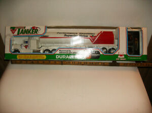 CANADIAN TIRE TANKER TRUCK, NEW BRIGHT, DURACELL, NEVER USED