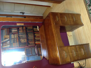 Antique dressing table with mirror-REDUCED price!
