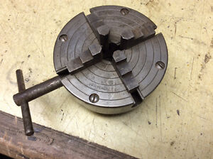 4 jaw chuck, Sicamous bc