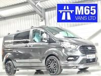 2018 TRANSIT CUSTOM SPORT STYLE COMBI CREW LIMITED VAN NOT MS-RT M SPORT GREY
