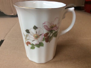 Floral Garland bone china cup brand new.