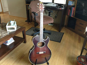 Washburn six sting guitar includes case for sale $600.00
