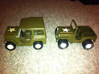 Vintage Collectable Tonka & Buddy Jeeps