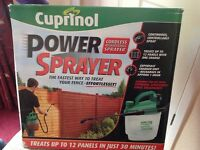 CUPRINOL POWER SPRAYER UN-USED BRAND-NEW