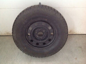 Snow tires and rims for sale Kitchener / Waterloo Kitchener Area image 1
