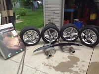 2012 Mustang tire and rims, plus parts