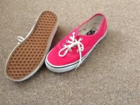 Vans trainer shoe size 4.5