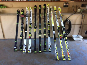 Race skis & Boots Fischer World Cup