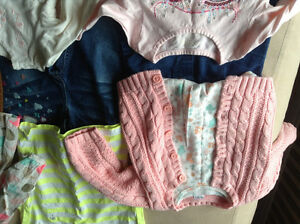 Gap warmest down coat & 24 month girls clothes London Ontario image 6
