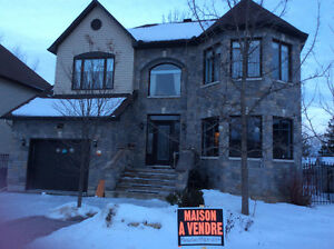 House for sale Gatineau (Aylmer) with upgrades (built 2008)
