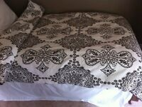 2 single duvets Moroccan design by Nate Berkus