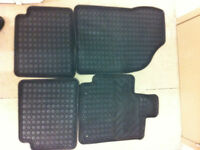 TOYOTA OEM ALL WEATHER RUBBER & CARPET MATS