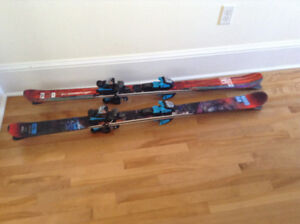 Two sets of Childrens/Youth Skis and Boots SOLD PPU