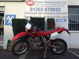 Honda XR400 2001 with very low mileage.