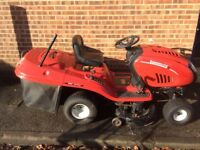 Ride on Petrol lawn mower lawnflite auto drive