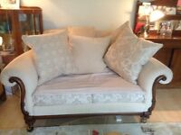 Beautiful quality settee and chair
