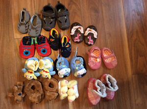 Chaussures diverses 0-12 mois
