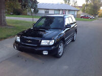 For sale: a 1998 S/TB 250hp Forester with 59,000km (very clean)